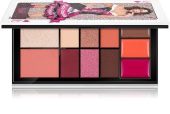 Rude Cosmetics Face Card Palette Palette für das komplette Gesicht