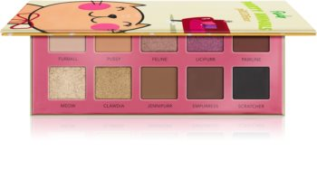 Rude Cosmetics Party Animals pRUDEnce palette di ombretti