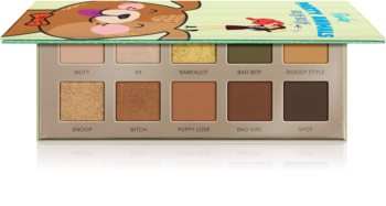 Rude Cosmetics Party Animals RUff RUff palette de fards à paupières