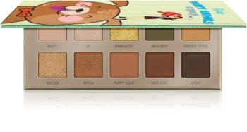 Rude Cosmetics Party Animals RUff RUff szemhéjfesték paletta