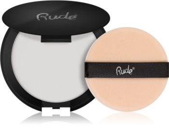 Rude Cosmetics Shine Crime cipria trasparente opacizzante