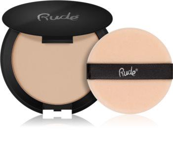 Rude Cosmetics Shine Crime матираща транспарантна  пудра