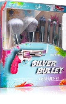 Rude Cosmetics Silver Bullet комплект четки