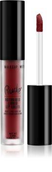 Rude Cosmetics Notorious batom líquido com acabamento mate