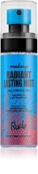 Rude Cosmetics Radiant Lasting Mist spray pentru fixare și strălucire