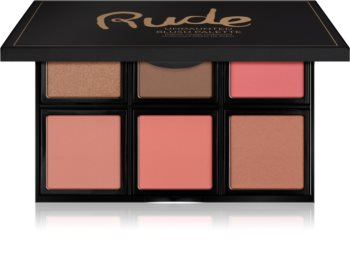 Rude Cosmetics Face Palette Undaunted Contouring Blusher Palette