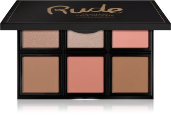 Rude Cosmetics Face Palette Fearless paletka na tvár