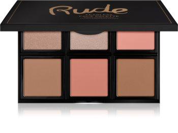 Rude Cosmetics Face Palette Fearless Palette für das Gesicht