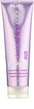 Rusk Deep Shine Color Repair champô nutritivo de limpeza para enfatização de cor de cabelo