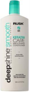Rusk Deep Shine Smooth condicionador  nutritivo e de alisamento para fácil penteado de cabelo