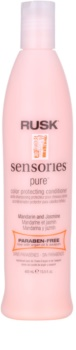 Rusk Sensories Pure condicionador nutritivo para cabelo pintado