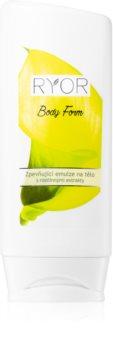 RYOR Body Form festigende Emulsion mit Pflanzenextrakten und Proteinen