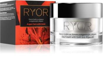 RYOR Argan Care with Gold denní krém se zlatem a arganovým olejem