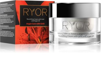 RYOR Argan Care with Gold Nourishing Cream With Gold And Argan Oil