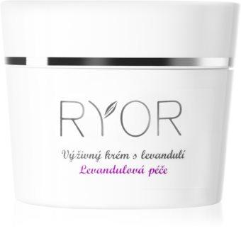 RYOR Lavender Care crema facial nutritiva