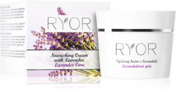RYOR Lavender Care creme nutritivo de rosto