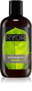 RYOR Men Shower Gel 3 in 1