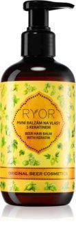 RYOR Original Beer Cosmetics balsamo per capelli alla birra con cheratina