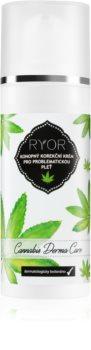 RYOR Cannabis Derma Care crème correctrice au chanvre pour peaux à problèmes