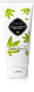 RYOR Cannabis Derma Care crème régénératrice au chanvre pieds