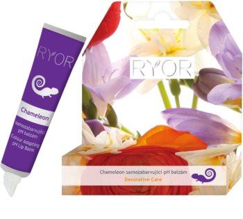 RYOR Decorative Care pH balzam za ustnice s prilagodljivo barvo za ustnice
