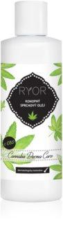 RYOR Cannabis Derma Care olio doccia alla canapa
