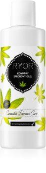 RYOR Cannabis Derma Care sprchový olej konopný
