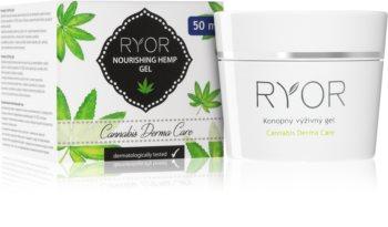 RYOR Cannabis Derma Care gel nourrissant au chanvre visage et corps