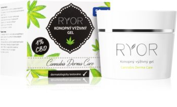 RYOR Cannabis Derma Care Nourishing Hemp Gel for Face and Body