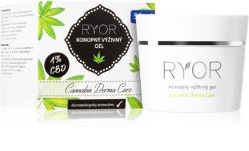 RYOR Cannabis Derma Care Ravitseva Hamppugeeli Kasvoille ja Vartalolle