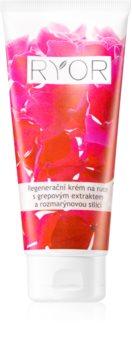 RYOR Face & Body Care creme regenerador para mãos com extrato de toranja e essência de alecrim