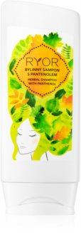 RYOR Hair Care bylinný šampón s panthenolom