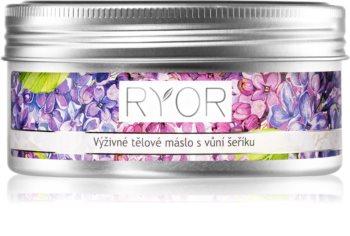 RYOR Lilac Care výživné tělové máslo