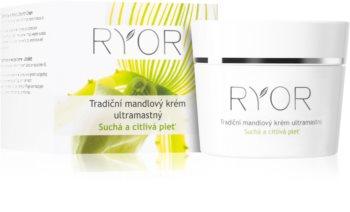 RYOR Dry And Sensitive tradicionalna mandljeva krema ultra mastna