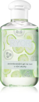 RYOR Antimicrobial Rinse-Free Cleansing Hand Gel With Extracts Of Cucumber