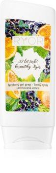 RYOR Grapefruit & Black Currant jemný sprchový gel