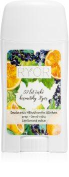 RYOR Grapefruit & Black Currant deodorant s 48hodinovým účinkem