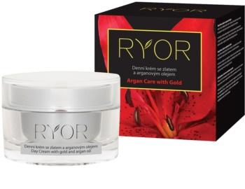 RYOR Argan Care with Gold crème de jour à l'or et huile d'argan