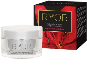 RYOR Argan Care with Gold crema notte con oro e olio di argan