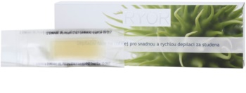 RYOR Depilation and Shaving bandas de cera fria para depilação facial fácil e rápida
