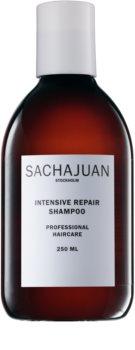 Sachajuan Intensive Repair σαμπουάν για ταλαιπωρημένα και από τον ήλιο εξασθενημένα μαλλιά