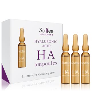 Saffee Advanced Hyaluronic Acid Ampoules Ampulle – 3 Tage Starter Pack mit Hyaluronsäure