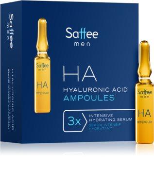 Saffee Men Urban DTX ampoules – Pack de démarrage 3 jours avec acide hyaluronique