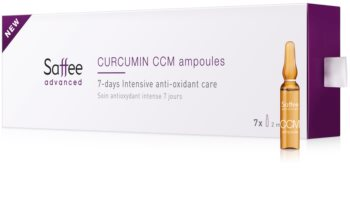 Saffee Advanced Ampule – 7-day intensive treatment with curcumin
