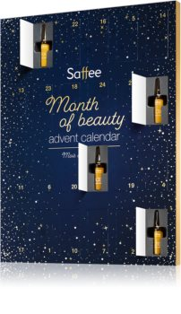 Saffee Advanced коледен календар – ампули