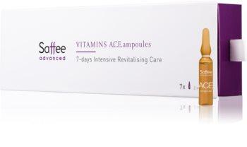 Saffee Advanced Vitamins A.C.E. Ampoules fiolă – 7 zile de tratament intens cu vitaminele A, C, și E