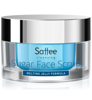 Saffee Cleansing Melting Jelly Scrub exfoliante facial a base de azúcar