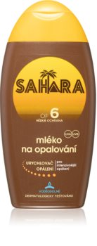 Sahara Sun latte protettivo per accelerare l'abbronzatura SPF 6