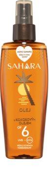 Sahara Sun olej na opalování ve spreji SPF 6