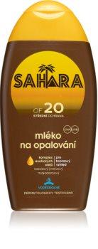 Sahara Sun mléko na opalování SPF 20